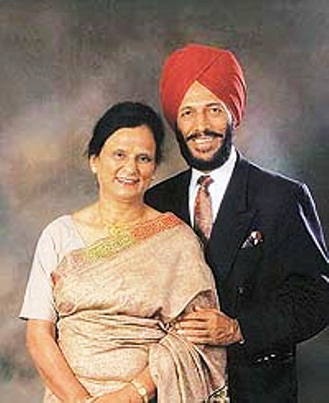 Sports Couples - Milkha Singh and Nirmal Kaur