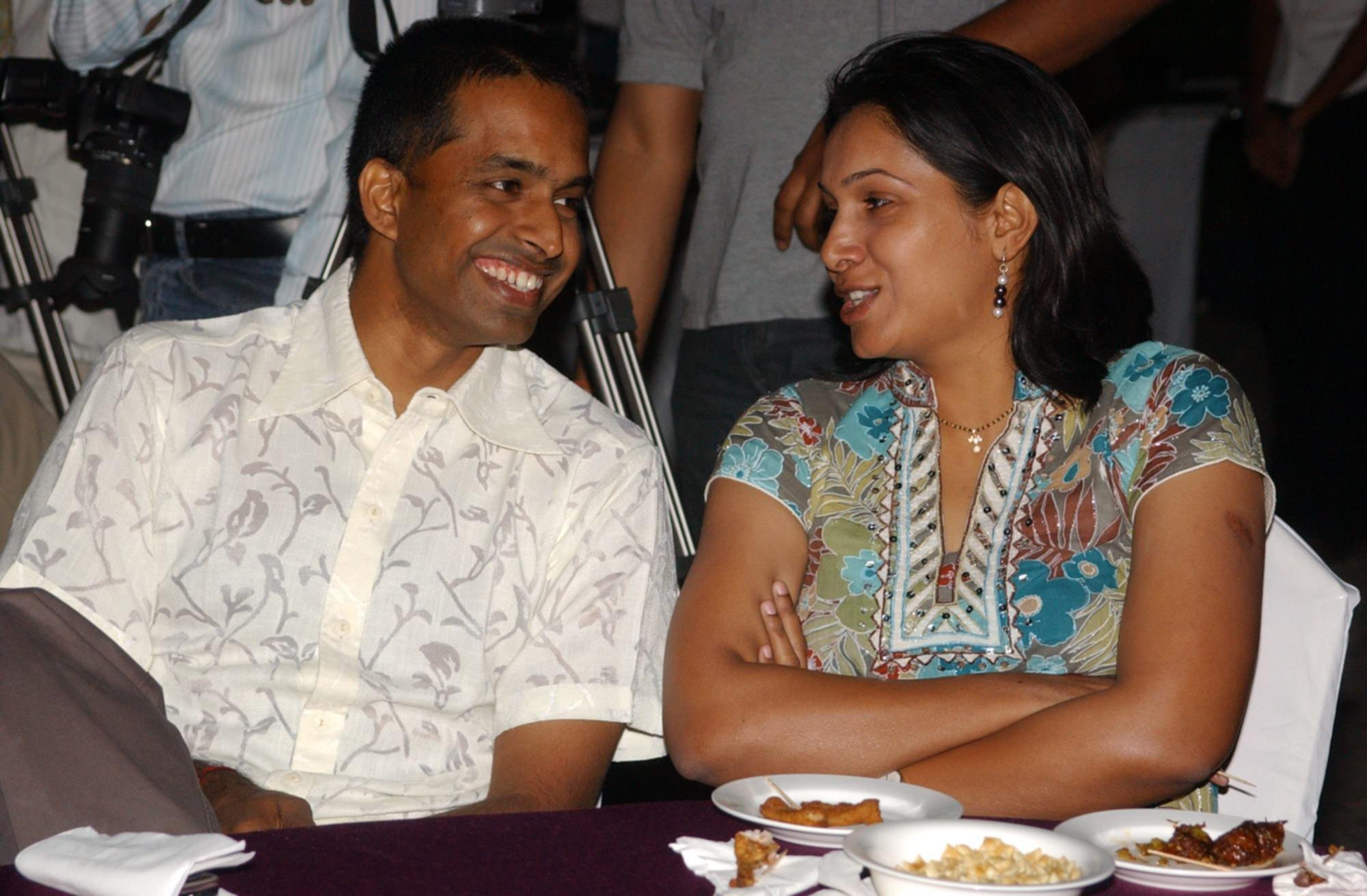 Sports Couples - PVV Lakshmi and Gopichand