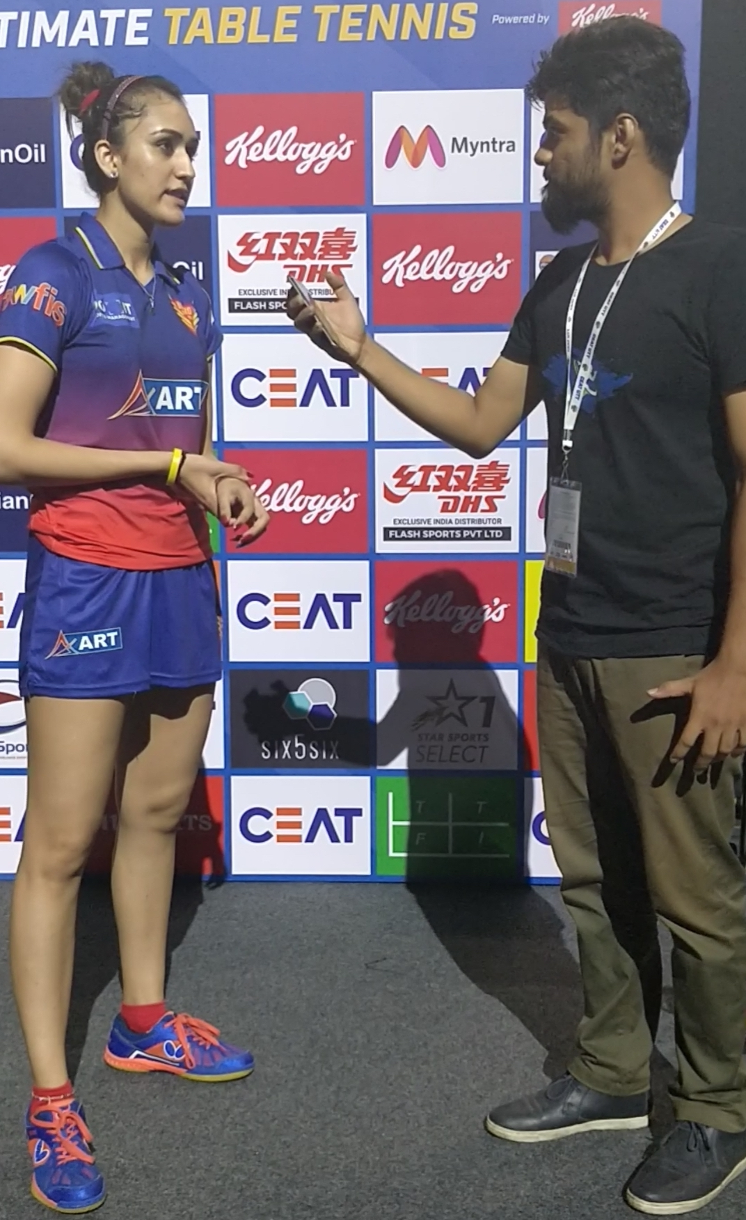 Manika Batra - Ultimate Table Tennis