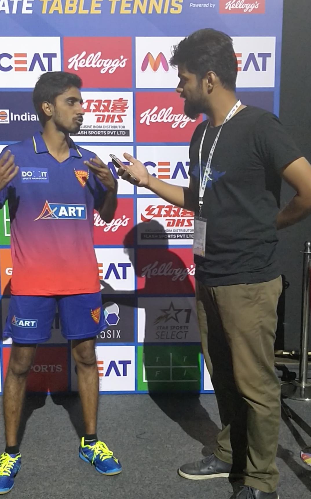 Sathiyan - Ultimate Table Tennis