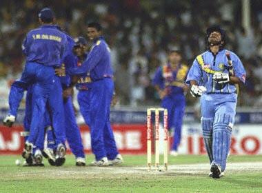 Embarrassing sports moment - Cricket