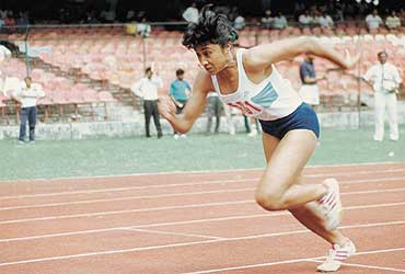 Ashwini Nachappa - Track and Field Athlete