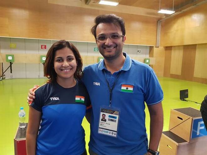 Sports Couples - Heena Sidhu and Ronak Pandit