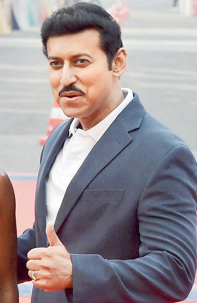 Sports person - Rajyavardhan Rathore