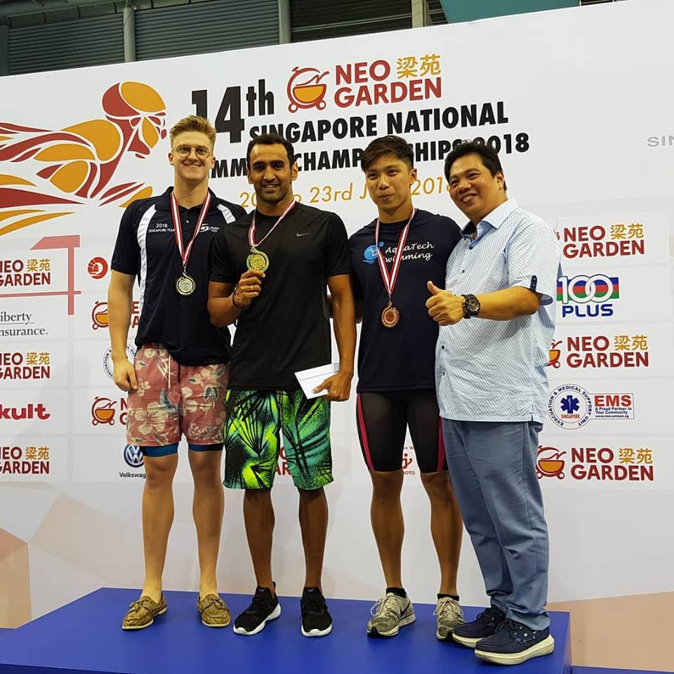 Singapore National Swimming Championships kreedon