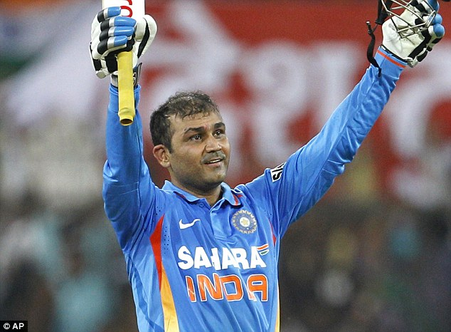 Virat Sehwag - top paid