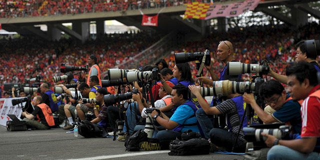 Sports Career - Sports photographer