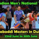 World Kabaddi Masters last Hurdle before Asian Games for Team India