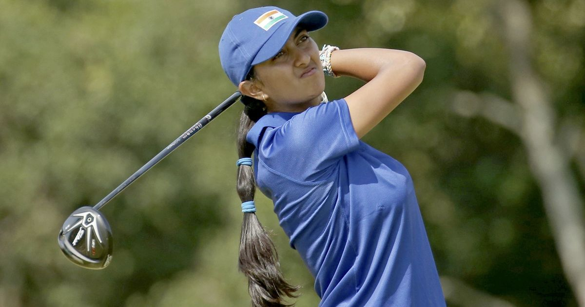 Indian Golfers - Aditi Ashok