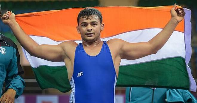 Junior Asian wrestling - Deepak Punia