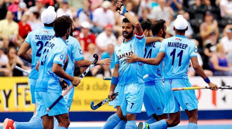 India men's hockey team - kreedon - asian games 2018