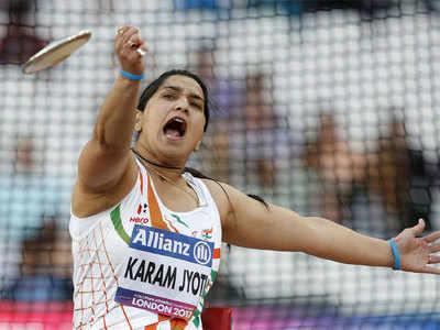Paralympic Athletes - Karamjyoti Dalal