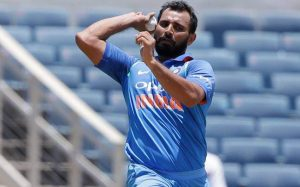 Mohammed Shami KreedOn fastest bowlers in India