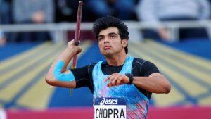 Javelin throw - Neeraj Chopra