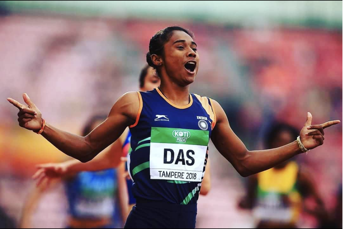 Hima Das - Fitness Sports - Running