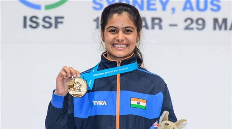 Manu Bhaker - Indian Athlete