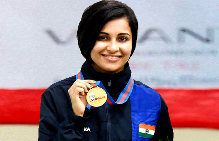 World record - Heena Sidhu