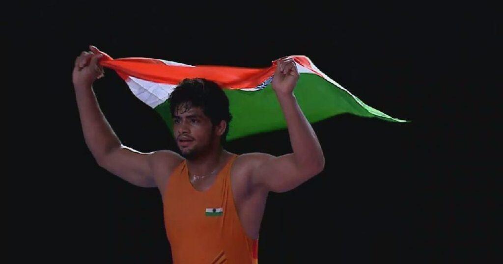 Greco Roman wrestler - Sajan Bhanwal