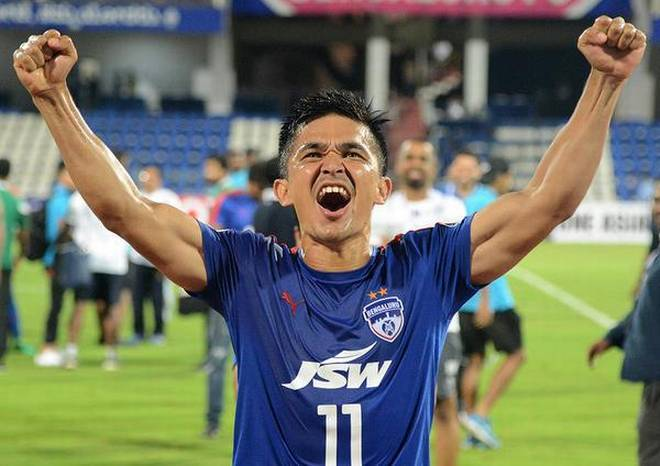 Indian Sports Legend - Sunil Chhetri