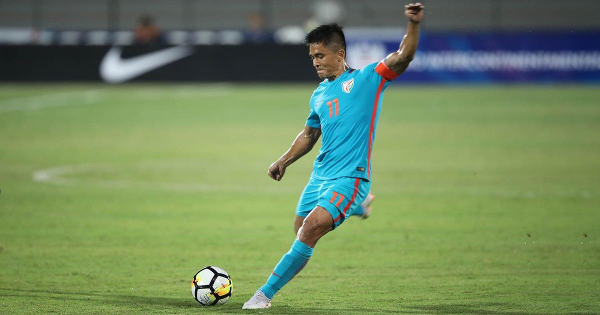 Sunil Chhetri - Indian Football Player