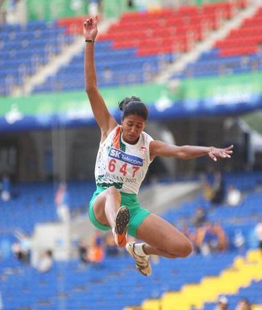 Anju Bobby George glorious moments of india asian games kreedon
