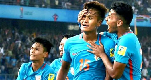 U 20 Indian Football team Win - KreedOn