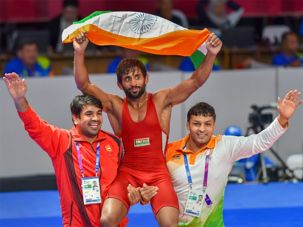 bajrang-punia- india at asian games 2018 kreedon