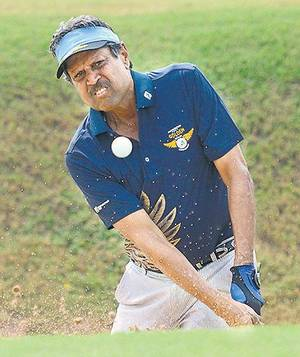 Kapil Dev - Indian Golf