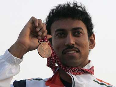 Rajyavardhan singh Rathore -medal kreedon