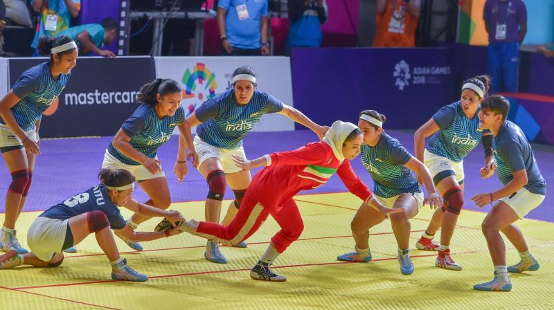 Indian kabaddi team women kreedon