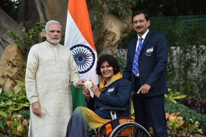 Asian Para Games Deepa Malik KreedOn