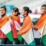 5 consecutive gold medals by girls in Asian Games 2018