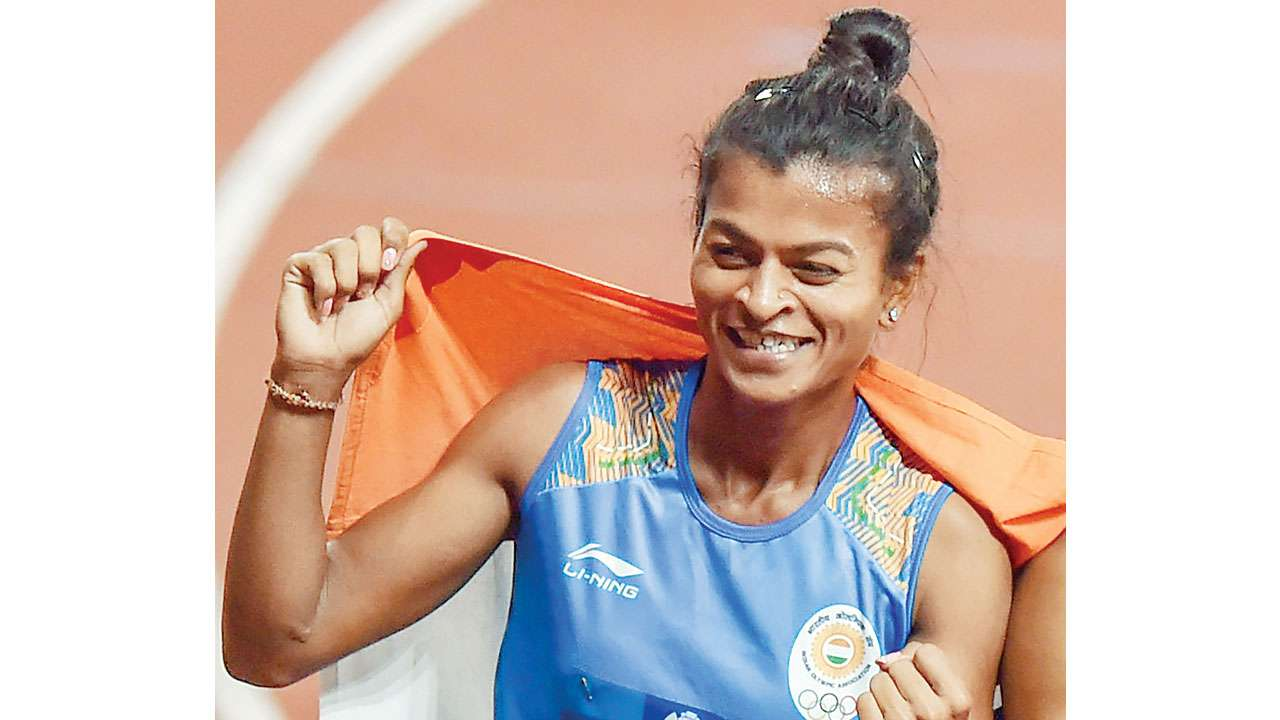 Saritaben Gayakwad relay asian games kreedon
