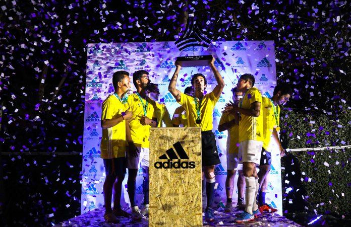 Ranvijay Singha, Partner Adidas Creator Premier League