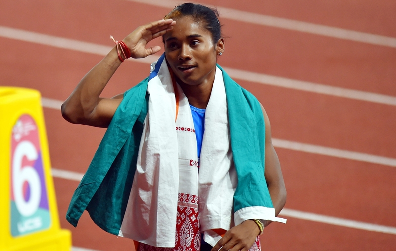 Hima Das asian games KreedOn