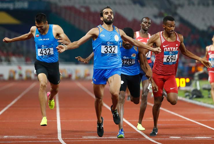 Asian Games 2018 winning moment for Manjit Singh