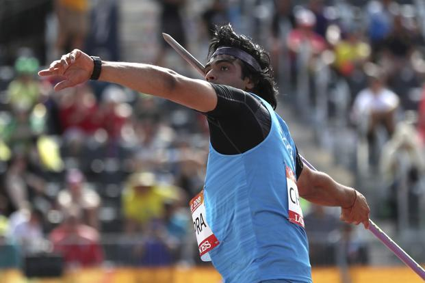 Neeraj Chopra in action