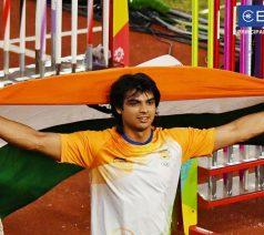 Javelin Throw Champion - Neeraj Chopra