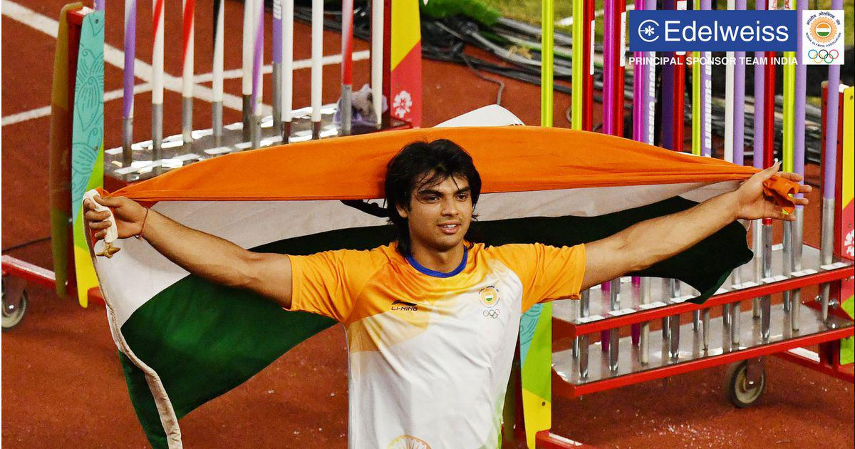 Javelin Throw Champion - Neeraj Chopra