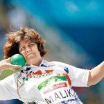 Deepa Malik in action