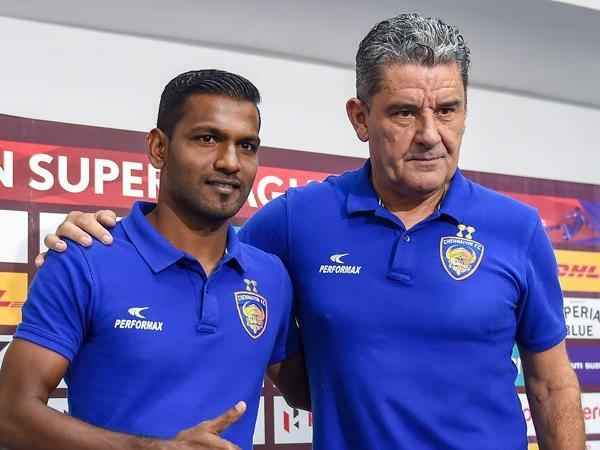 Chennaiyin fc team Coach on KreedOn