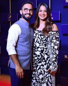 Dinesh Karthik and Dipika Pallikal Karthik KreedOn