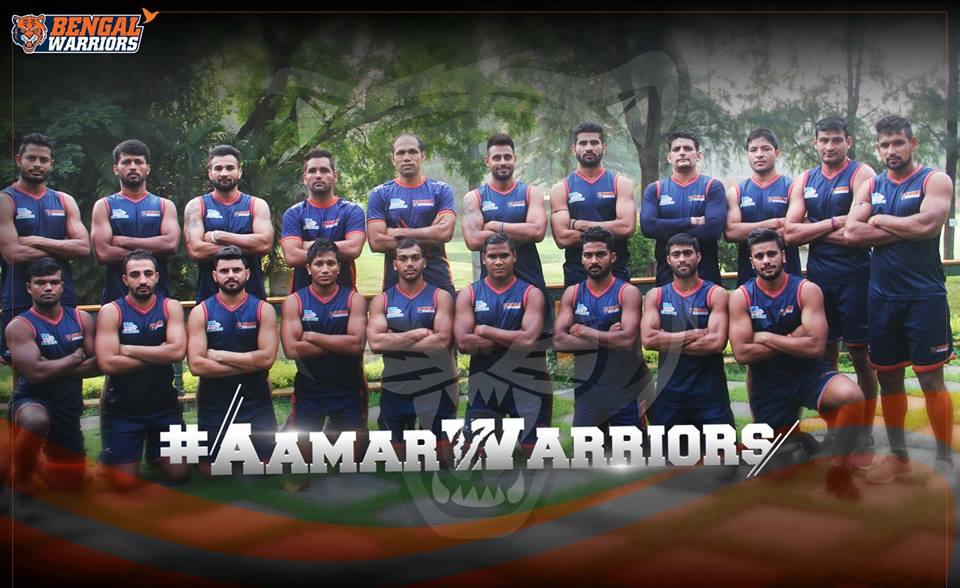 Pro kabaddi team on KreedOn