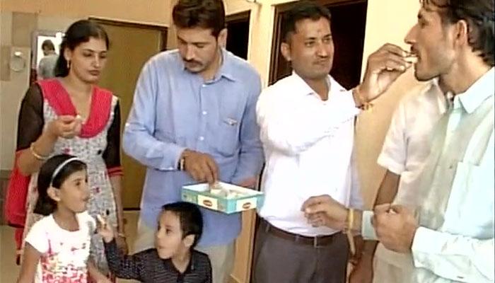 Devendra-Jhajharia family