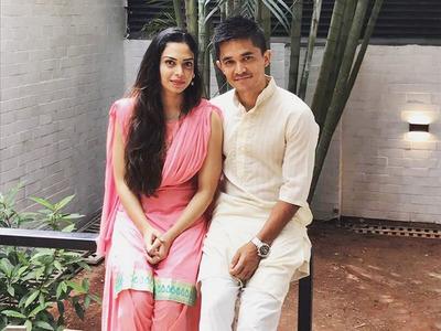 Sunil Chhetri Wife KreedOn