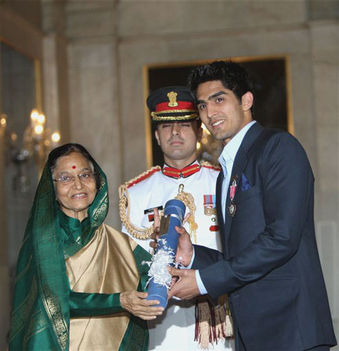 Vijender singh award on Kreedon
