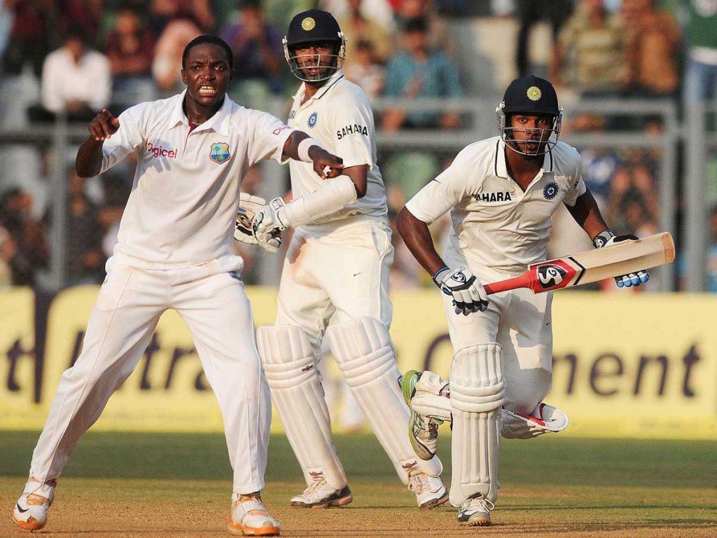 India vs west indies test series on KreedOn