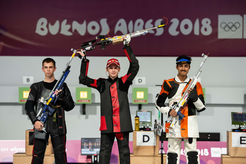 Youth Olympic Tushar Mane KreedOn