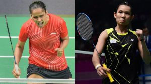 Saina Nehwal and Tai Tzu Ching
