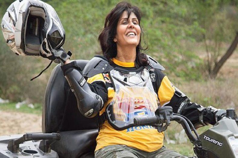 Deepa malik biking KreedOn
